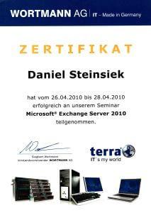 Microsoft Experte Daniel Steinsiek