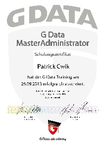 Meister Administrator Patrick Cwik