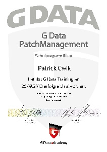 Patch Management Patrick Cwik