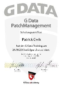 Patch Management Patrick Cwik
