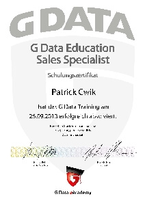 Experte G Data Education Sales Specialist