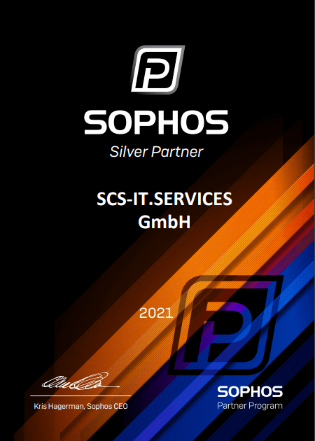 Sophos Zertifikat 2021